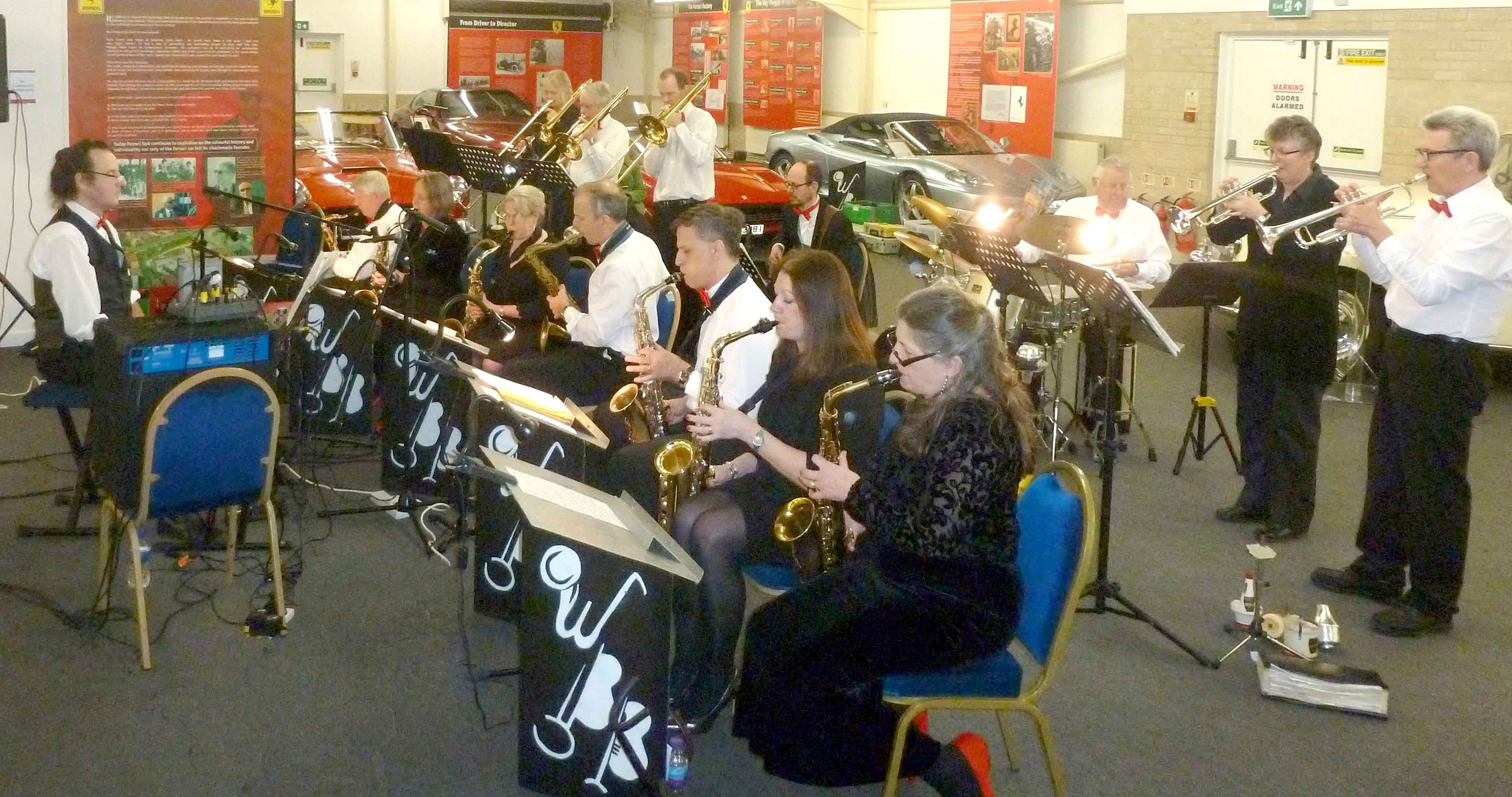 Band in Concert at Taunton with Vocalist Kelly & Musical Director Alan Brown